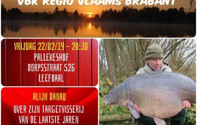 Regio avond Vlaams Brabant vrijdag 22 februari 2019