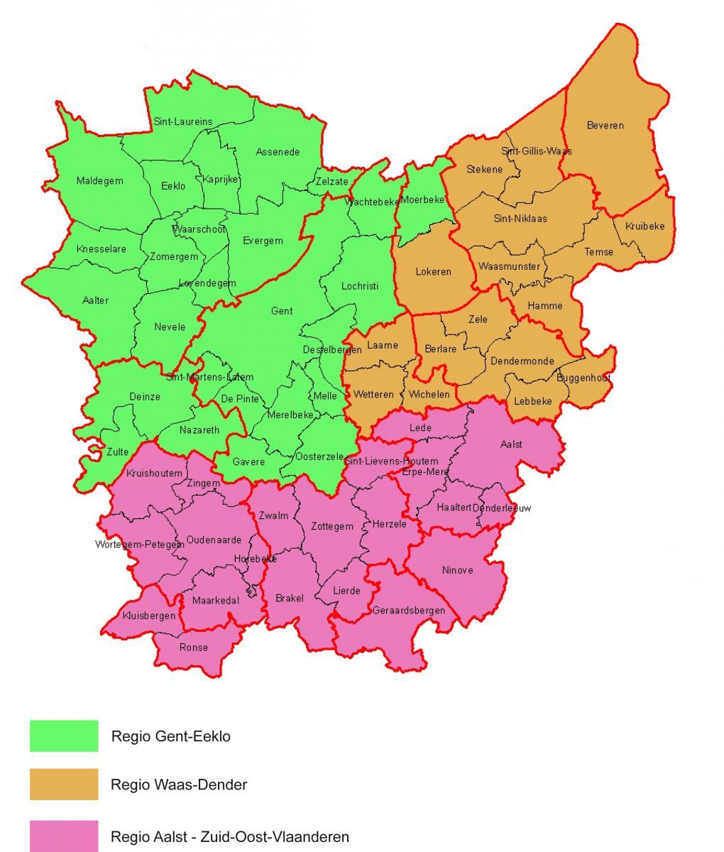Regio Oost-Vlaanderen