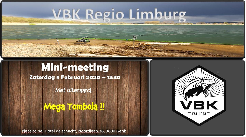 Mini meeting Regio Limburg 08 februari 2020