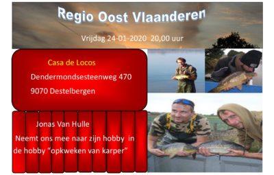 Regio oost-Vlaanderen 24-01-2020