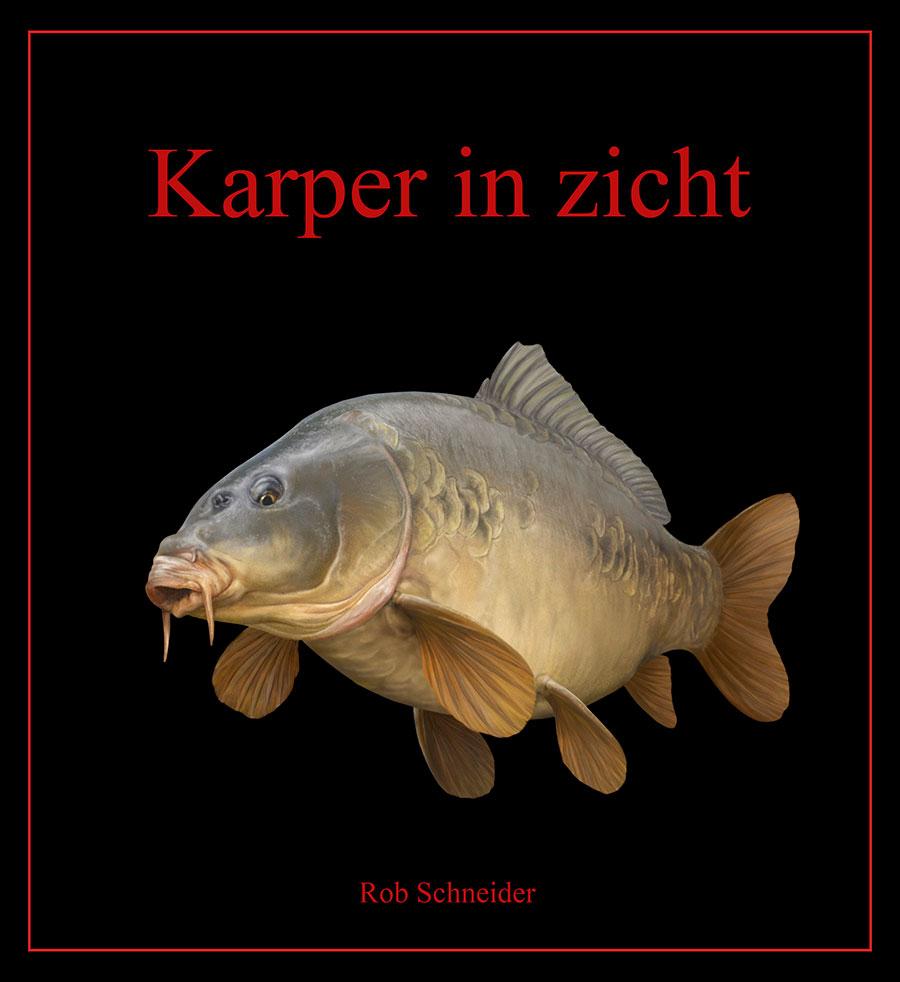 """Nieuwste boek van Rob Schneider """"karper in zicht"""""""