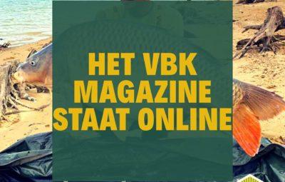 Magazine online voor VBK leden.